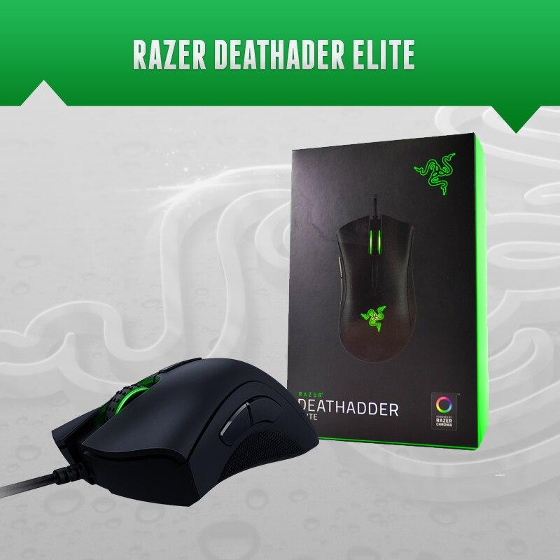 Компьютерная мышь Razer Deathadder Elitegaming mousegaming mouse brandsbrand mouse  АлиЭкспресс
