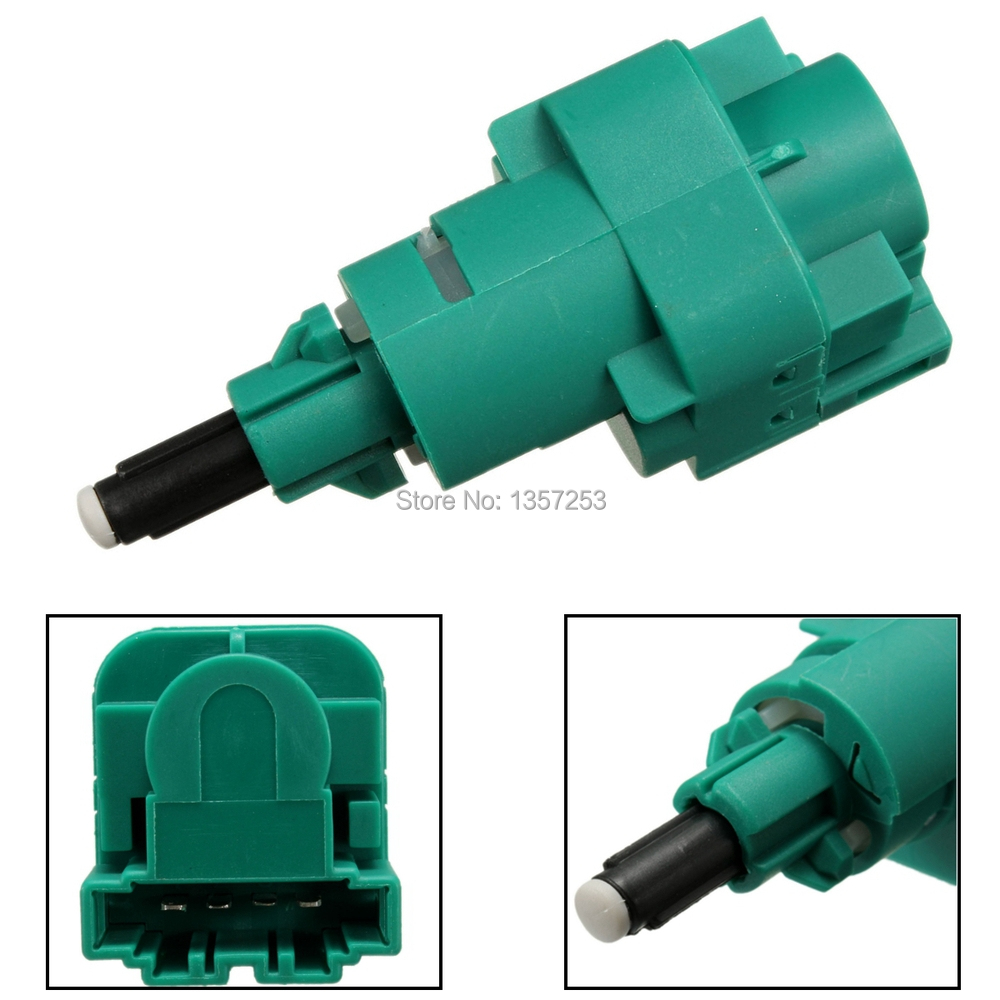 5PCS/LOT 4 Pin Stop Break Light Switch 1C0945511A For VW GOLF BORA CADDY  Green