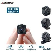 ASKMEER S5 Mini Video Camera Full HD 1080P Sensor Micro DV DVR Motion Recorder Security Camcorder Support Motion Detection leshp mini camera full hd 1080p dvr camera motion sensor charing