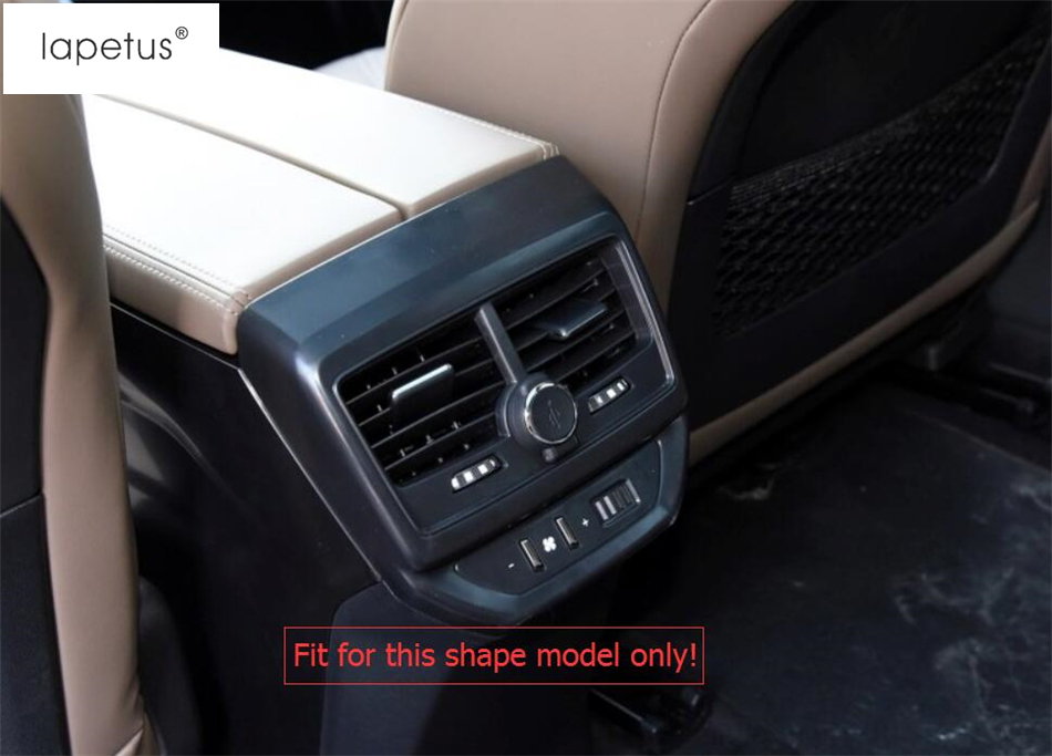 ABS Interior Armrest Box Rear Air Outlet Cover Trim for BMW 3 Series G20 2019 20