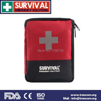 Travel Camping Medical Emergency First Aid Kit Survival Bag Treatment Home Wilderness Survival