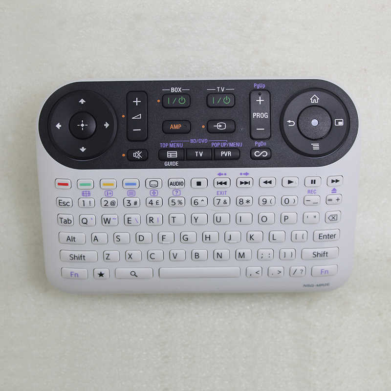 NSG-MR2E pilot klawiatura qwerty dla Sony BluRay NSZ-GT1 Google TV