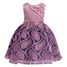 цены на 2019 Girl Summer Dress Sleeveless Floral Princess Dress for Girls Kids Party Elegent Costume Vestido Toddler Girl dresses  в интернет-магазинах