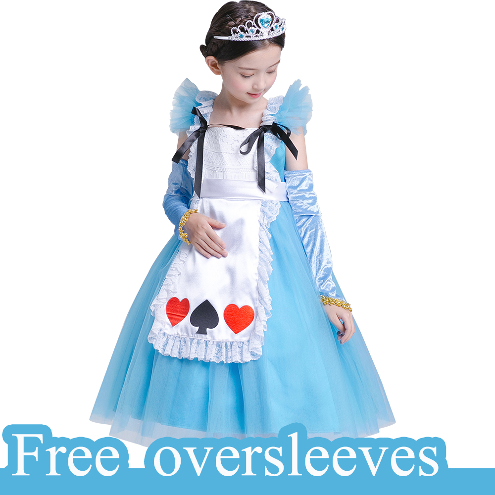 Baby Mädchen Prinzessin kleid vestido infantil Alice Im Wunderland ...