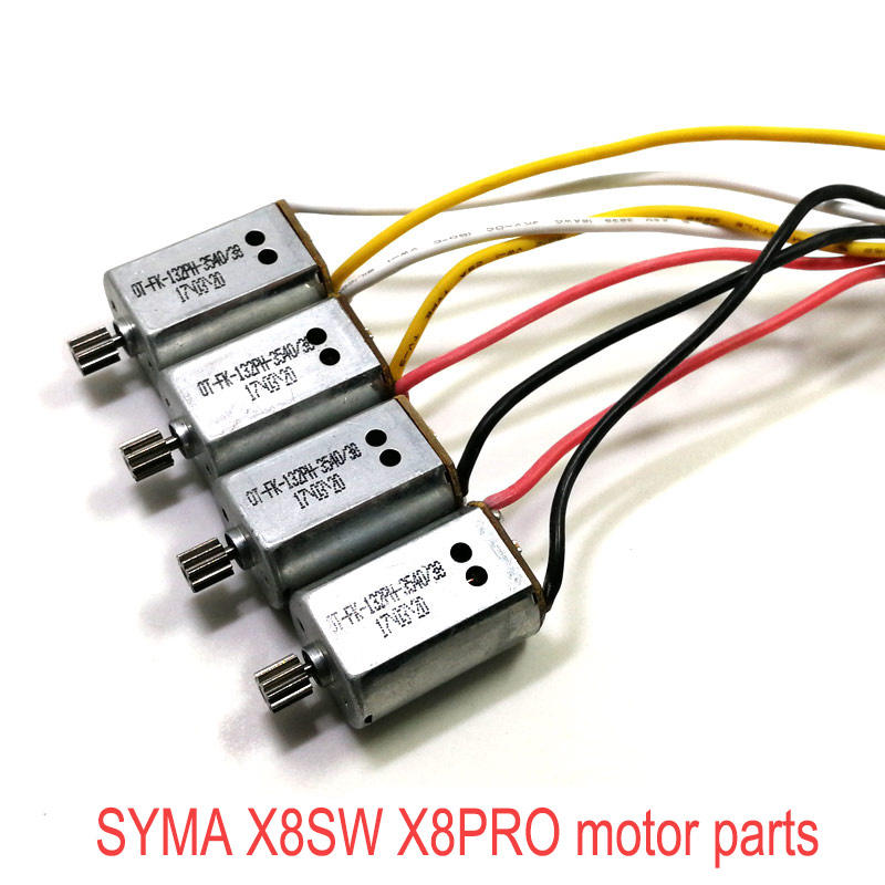 100% Original Motor SYMA X8SW X8PRO X8 PRO Engine CW CCW RC Quadcopter Accessories Spare Parts