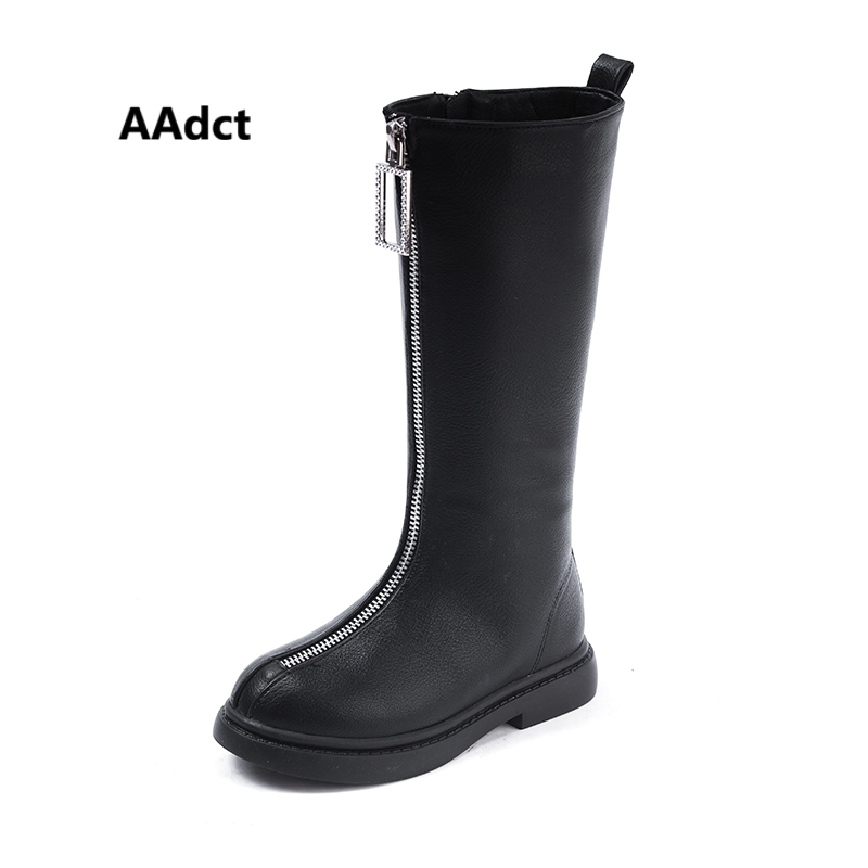 AAdct girls boots new kids high boots for girls Brand Princess winter  cotton children shoes f061cfa2649c