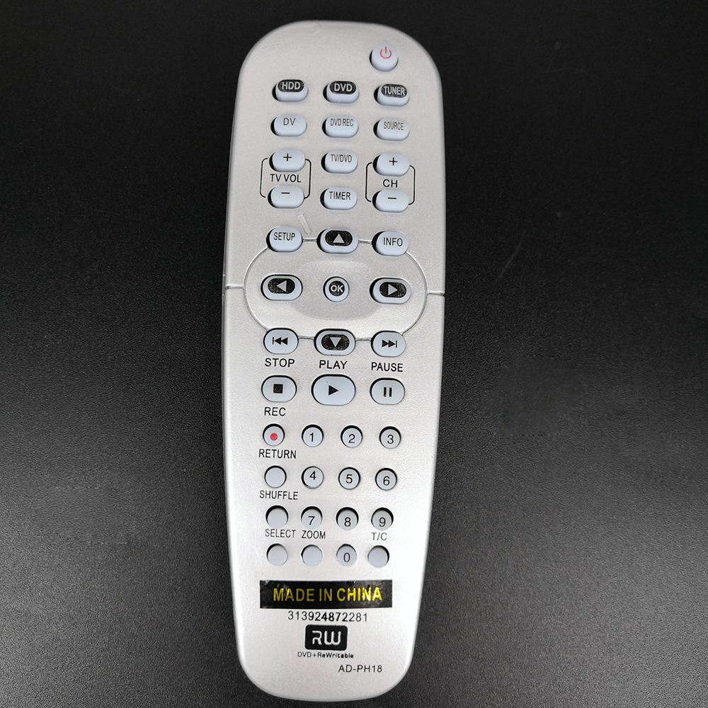 New Replacement <font><b>Remote</b></font> Control AD-PH18 <font><b>For</b></font> <font><b>PHILIPS</b></font> <font><b>DVD</b></font> <font><b>player</b></font> TV image