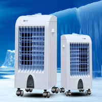 Strong Powerful Portable Evaporative Cooler with Fan Air Conditioner for Home Outdoor Office Movable Refrigerator BFK6001