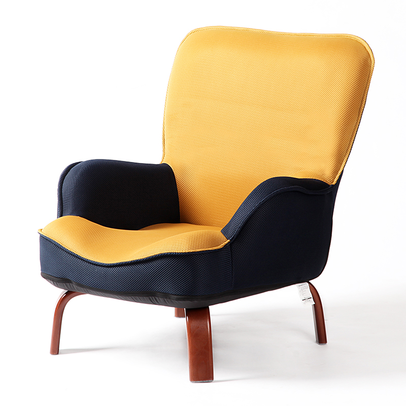 Modern Chairs Top 5 Luxury Fabric Brands Exhibiting At: Japanese Low Sofa Armchair Upholstery Mesh Fabric Wood