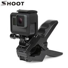 Black Handlebar Jaws Flex Clamp Mount Clamp Big Clip For GoPro Hero 4 3+ 3 2 Camera