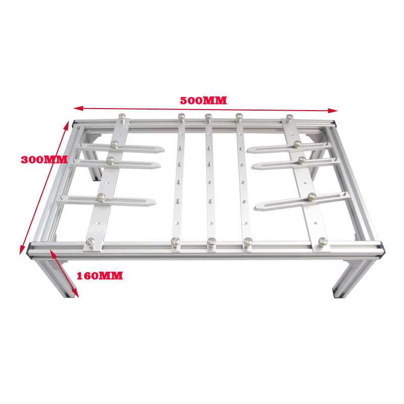 BGA Bracket Holder Supprt Stand 500mmx300mmx160mm PCB Bracket for Fixed Desktop Laptop Motherboards Rework Repairing