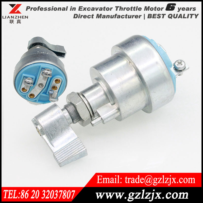 ФОТО Excavator digger engine fire up switch for for CAT excavator 7N-4160