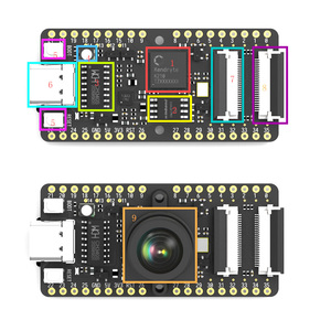 Image 1 - Sipeed MAIX Bit AI development board for straight breadboard with Screen+Camera K210 M12 K210 M12 Lens