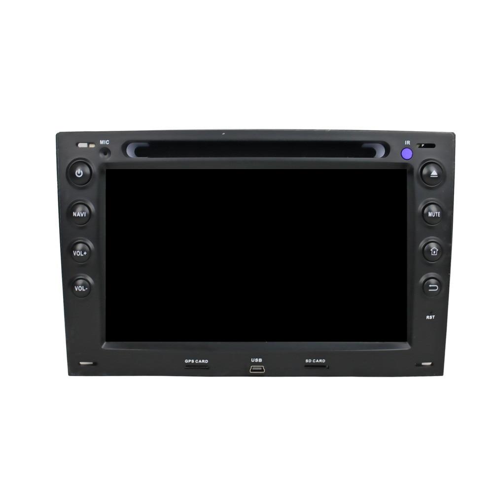 HD 7 дюймов 1024x600 2 Din Octa Core Android 6.0.1 Car DVD gps навигации видео плеер стерео радио для RENAULT Megane 2003-2009