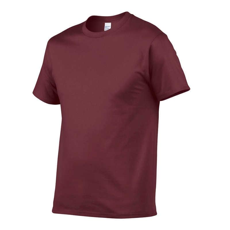 2019 新無地レジャー Tシャツメンズ黒、白綿 100% Tシャツ夏面白い Tシャツ少年スケート Tシャツトップスヨーロッパサイズ