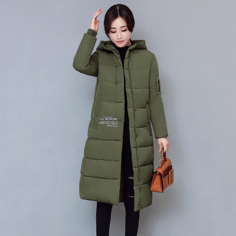 Wmwmnu 2017 Women Winter Jackets And Coats Placket Zipper Warm Hooded Windproof Parka cotton padded medium long women parkas