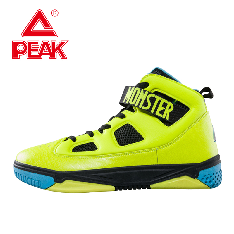 PEAK SPORT Monster 3.1 Men Basketball Shoes Professional Basketball Sneakers Support Sports Shoes Tech High-Top Ankle Boots peak sport lightning ii men authent basketball shoes competitions athletic boots foothold cushion 3 tech sneakers eur 40 50
