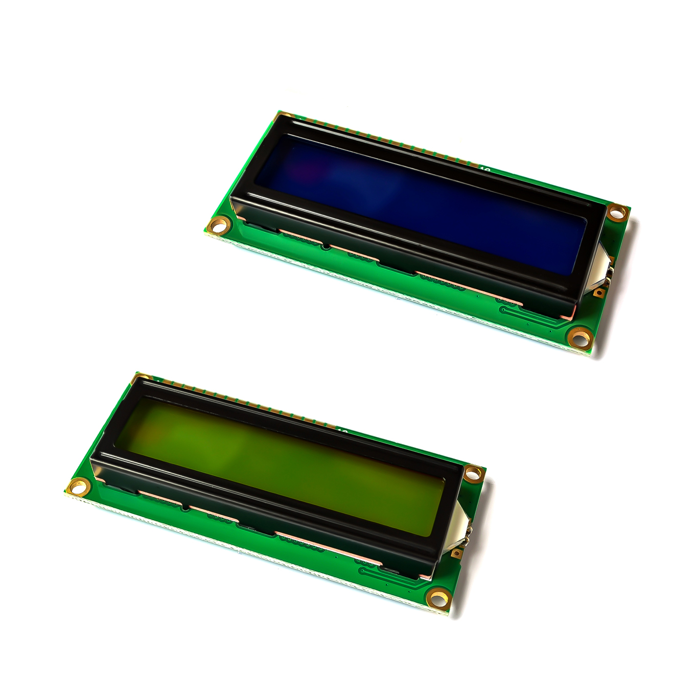 US $0 49  LCD1602 1602 module green screen 16x2 Character LCD Display  Module 1602 5V green screen and white code for arduino-in Integrated  Circuits