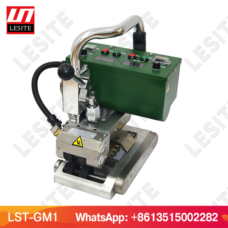 PEAD geomembrana soldador cunha Quente LESITE soldador máquina de solda da geomembrana de PVC LST-GM1