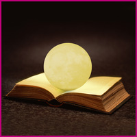 Free Shipping Creative Led 3D Pringting Night Light Lighting Lamp Portable USB Rechargeable Table Light