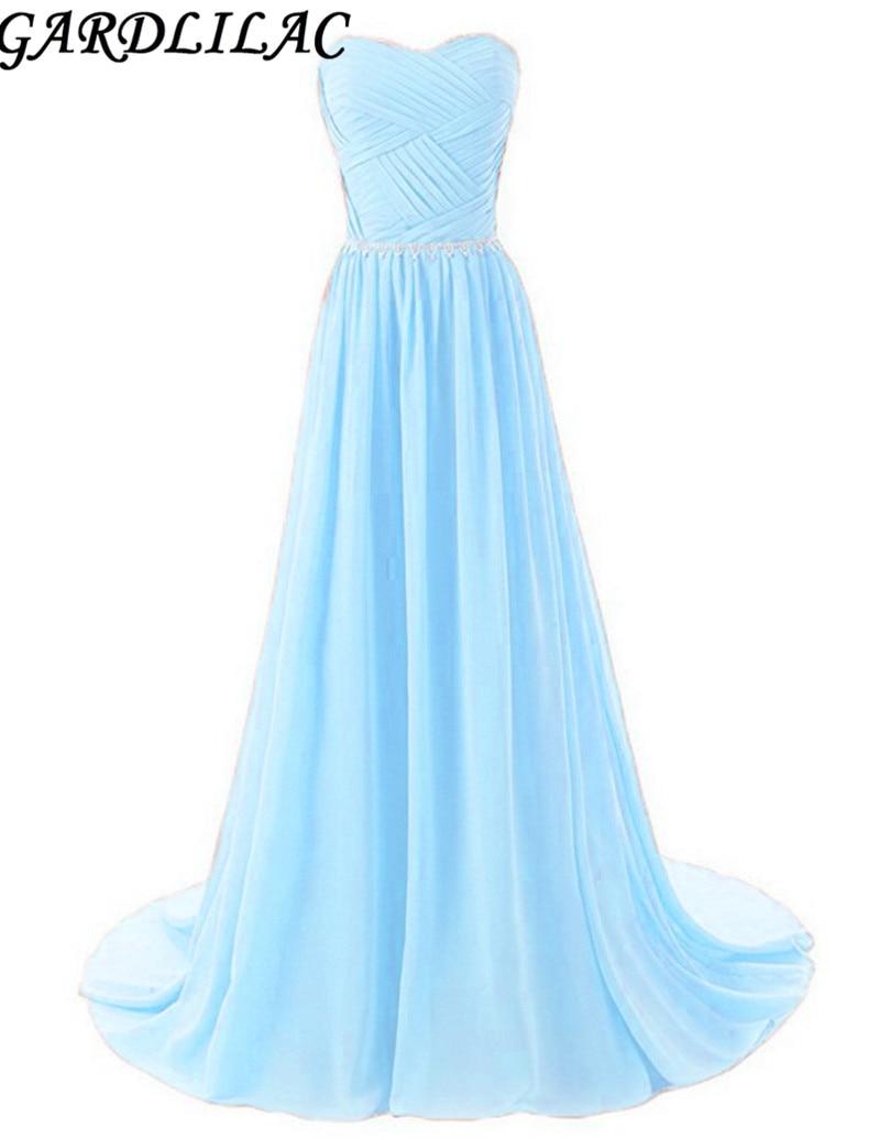 Gaun pengiring pengantin chiffon gaun gaun panjang plus saiz kekasih manik gaun hijau hitam gaun pesta perkahwinan ungu