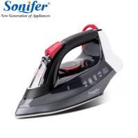 2200 Вт Электрический Утюг паровой Flatiron для одежды Высокое качество Универсальный керамика Soleplate инвентарь прачечной Sonifer