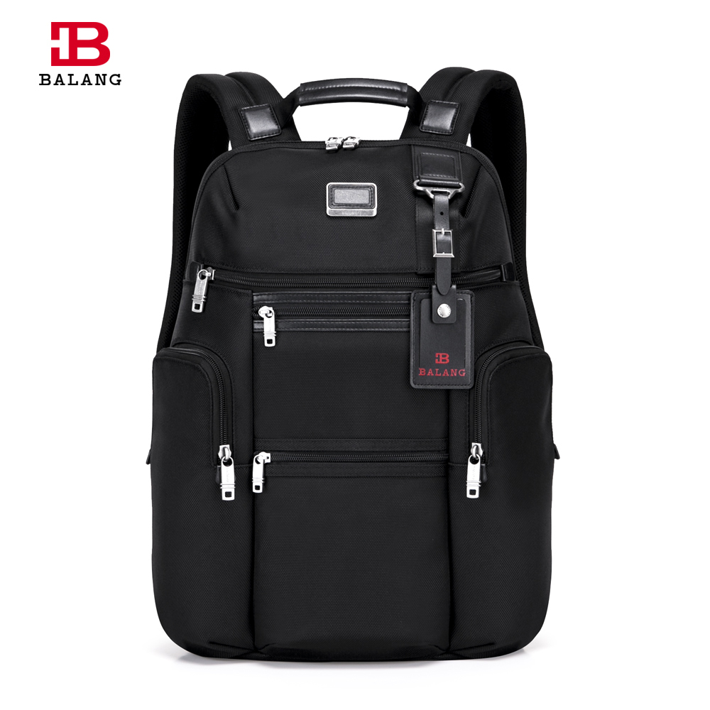 2017 BALANG Designers Brand Waterproof Oxford Men Travel 14 Laptop Backpack Unisex Casual College Luggage Fashion Travel Bags 2017 fashion women waterproof oxford backpack famous designers brand shoulder bag leisure backpack for girl and college student