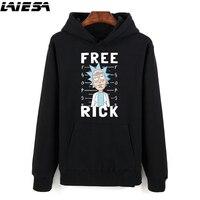 Rick And Morty Hoodie Sweatshirts Men Women Streetwear Hooded Rick Y Morty Hoody Pullover Oversized Sweatshirt