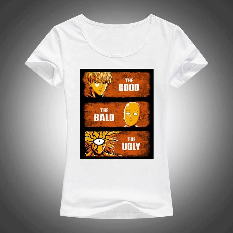Cheap T Shirts Online Crew Neck Women Cotton Short Sleeve  Cartoon Good Bald Ugly