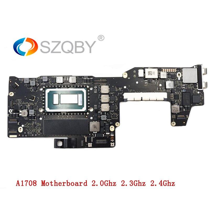 Véritable i5 2.0 GHz 8G RAM i7 2.4GHz 16GB carte mère pour MacBook Pro 2016 2017 13