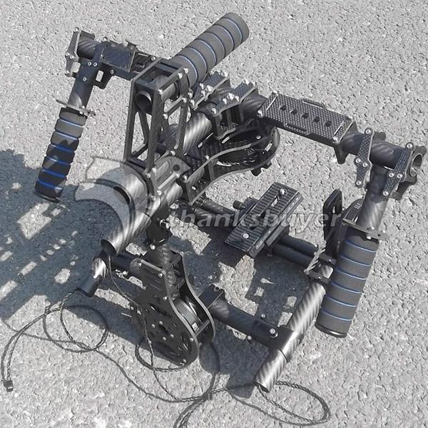 Hifly 3 Axis Full 3k Carbon Brushless Gimbal FPV HandHeld Camera Stabilizer for Red EPIC SCARLET DSLR Camera(4pcs 8108 motors) afi vs 3sd handheld 3 axle brushless handheld steady gimbal stabilizer for canon 5d 6d 7d for sony for gh4 dslr q20185