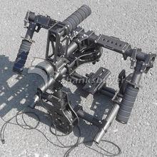 Hifly 3 Eje Completo 3 k de Carbono Sin Escobillas Cardán FPV de Mano cámara dslr cámara estabilizador para red epic scarlet (4 unids 8108 motores)