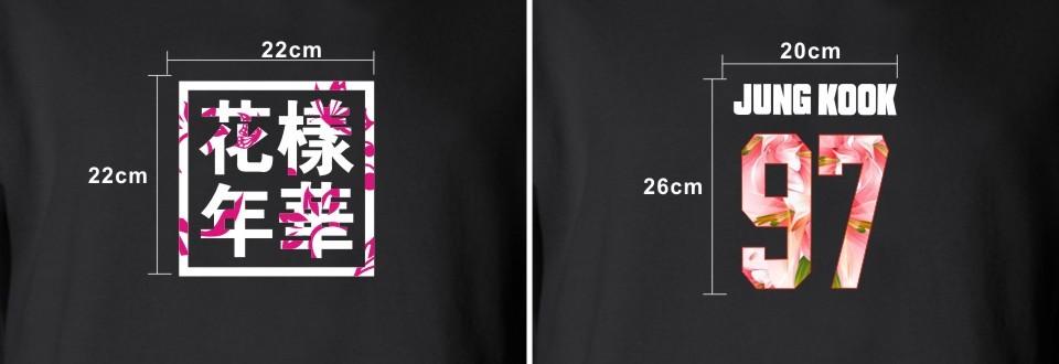 Kpop BTS Bangtan Boys LUCKYFRIDAYF Kobiety bluzy bluzy z kapturem Bluzy List Wydrukowano w J-HOPE 94 i SUGA 93 Kobiety Bluzy JUNG GŁUPIEGO 97 17
