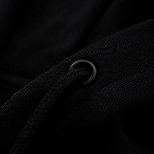 Image 4 - (Code de coupure) li ning FW hommes Sport vie chine doublure à capuche en vrac coton encre peinture Li Ning Sport pull AWDP755 MWW1583