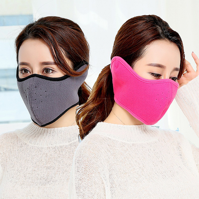 1 Pieces Warm Winter Mask Health Cycling Anti Dust Nose Protection Face  Mouth Mask Fashion Reusable 5014c70e5