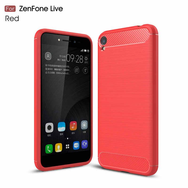 buy popular 0a13d 8c96b Shockproof Leather Case for Asus Zenfone Live ZB501KL A007 A007D 5.0