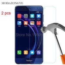 2 adet Temperli Cam Için Huawei Onur 8 Ekran Koruyucu Huawei Onur 8 FRD L19 FRD L09 Ekran Koruyucu Cam Koruyucu Film