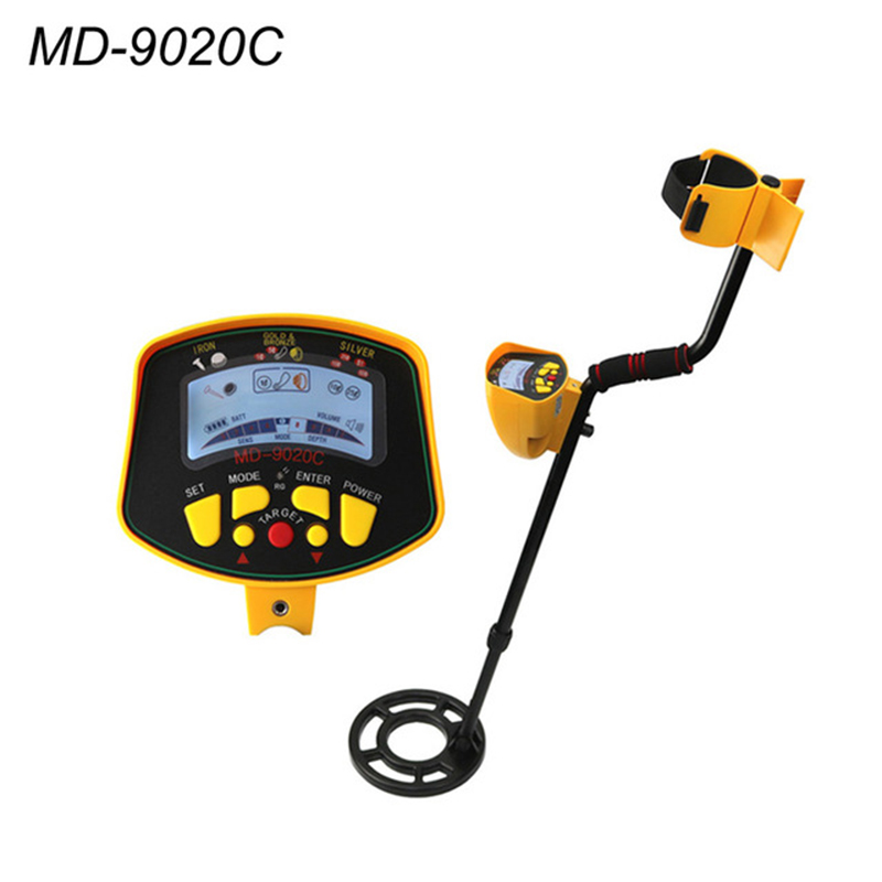 Industrial Metal Detector MD9020C With High Sensitivity Searching And LCD Display