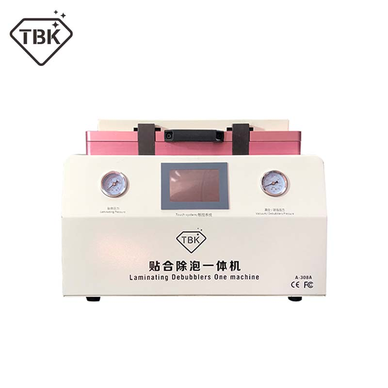 15 Polegada TBK-308A LCD Touch Screen de Reparo Automático Bolha que Remove A Máquina OCA Vácuo Máquina de Estratificação com bloqueio automático