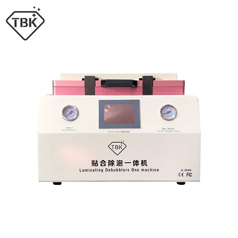 15 pollici TBK-308A LCD Touch di Riparazione Dello Schermo Automatico Bubble Rimozione Macchina OCA Vuoto Macchina di Laminazione con blocco automatico