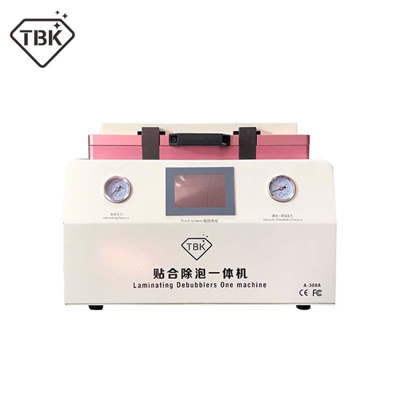 Machine automatique de stratification de vide de la Machine OCA de retrait de bulle de réparation d'écran tactile d'affichage à cristaux liquides de TBK-308A de 15 pouces avec la serrure automatique