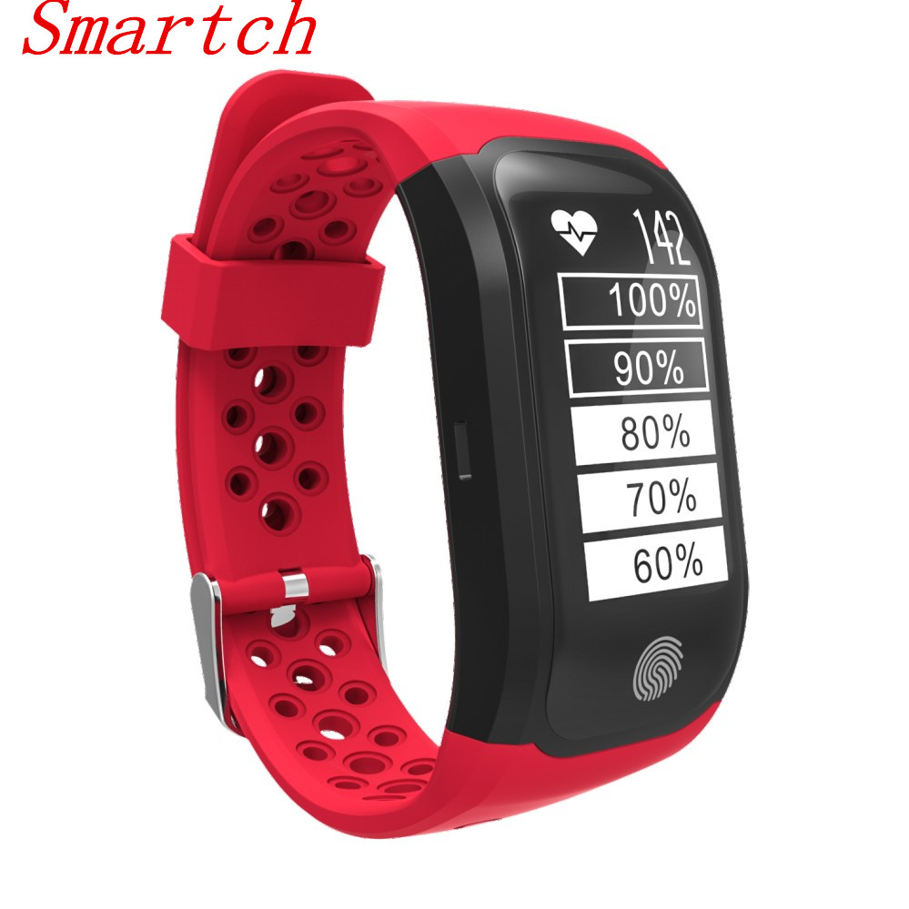 Smartch S908 GPS Smart Band IP68 Waterproof Sports Wristband Multiple sports Heart Rate Monitor Call Reminder G03