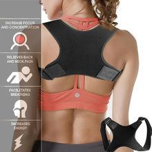 Hot Sale Posture Clavicle Support Corrector Back Straight Shoulders Brace Strap Correct Bone Care Posture Clavicle Support Belt