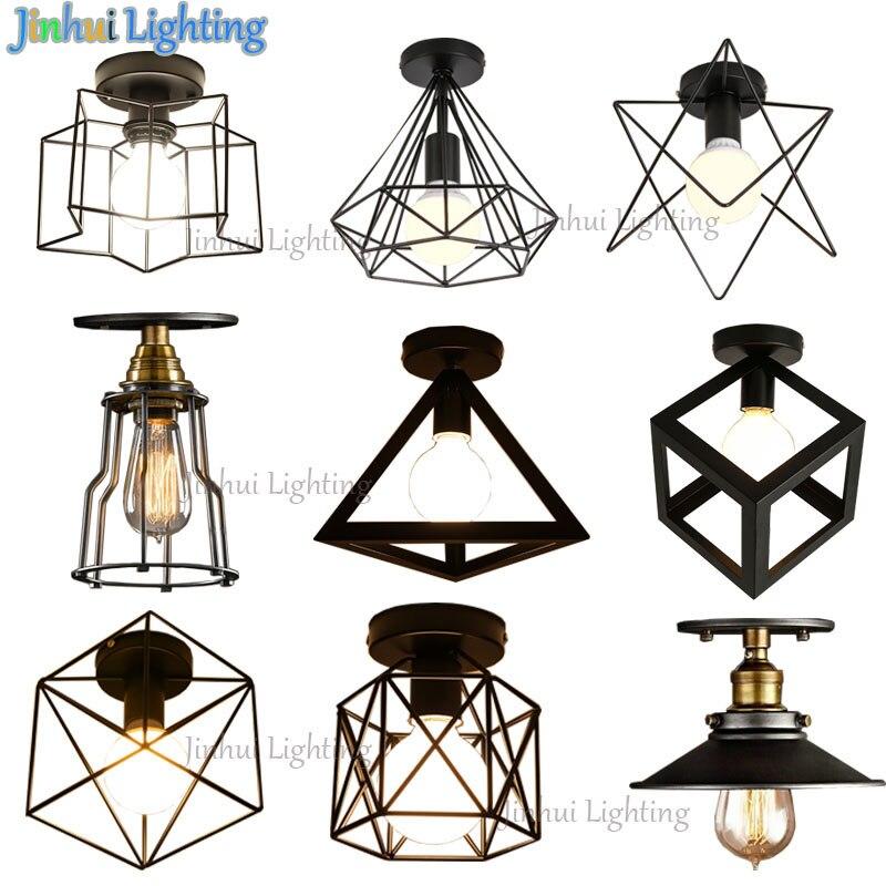 Luzes de Teto lâmpada do teto de ferro Material : Metal