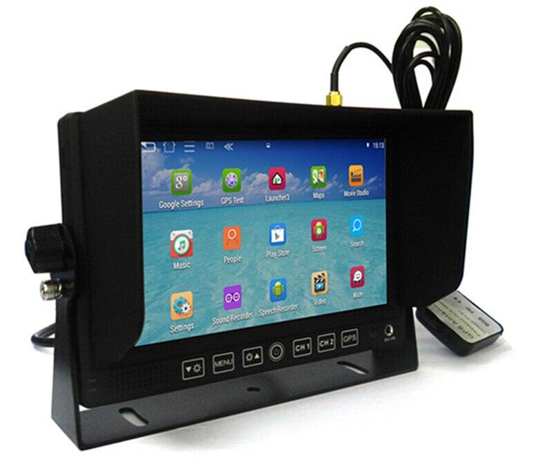 7 pulgadas android GPS incorporado, bluetooth con marco ...