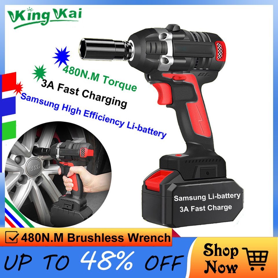 Y 480N/M Brushless Long Duration Cordless 1/2