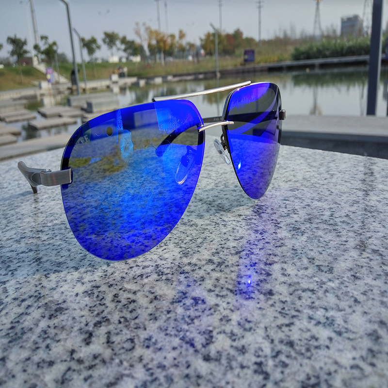 LVVKEE 2017 hot rays Aviation font b Sunglasses b font Men Classic Navy Air Force font