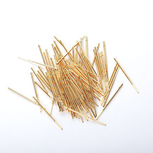 Industrial Supplies Spring Test Probe RM75-3W Brass probe Voltmeter Length 35.8mm  Accessories 100PCS