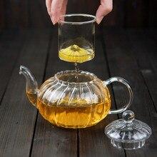 600 мл полосатый термостойкий стеклянный чайный набор 6 шт./компл. стеклянный теплый держатель 50 мл двухслойный стеклянный стаканчик для домашнего офиса чайные инструменты