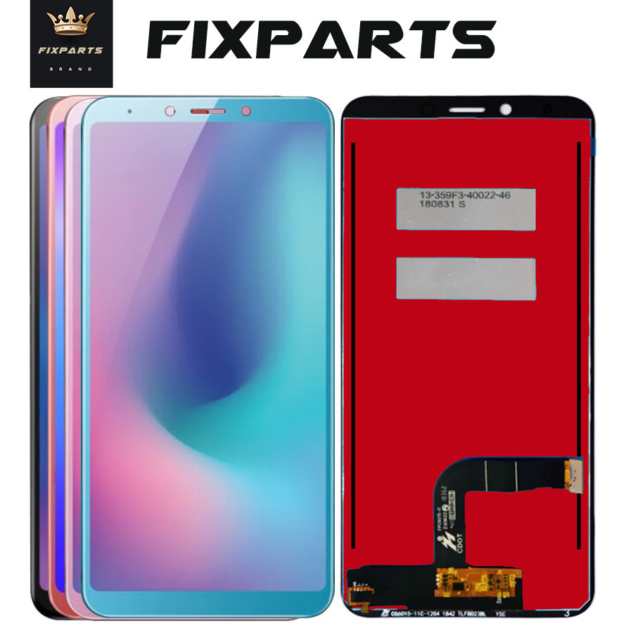 For Samsung Galaxy A6s LCD Display Touch Screen Digitizer Repair Accessory 6.0 inch Phone For SAMSUNG G6200 LCD SM-G6200 Screen image